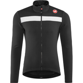 Castelli Puro 3 Full-Zip Jersey Herr light black